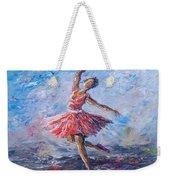 Ballet Dancer Weekender Tote Bag