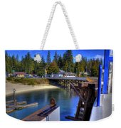 Balfour Bc Docks And Ferry  Weekender Tote Bag