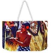 Bali Barong And Kris Dance  - Paint Weekender Tote Bag