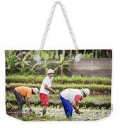 Bali Farming Weekender Tote Bag