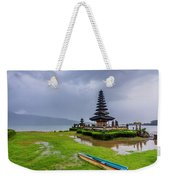 Bali Lake Temple Weekender Tote Bag