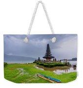 Bali Lake Temple Weekender Tote Bag