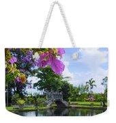 Bali Reflections Weekender Tote Bag