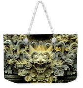 Bali Temple Art Weekender Tote Bag