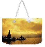 Bali, Temple Weekender Tote Bag