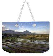 Bali Terrace Rice Field Weekender Tote Bag