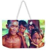 Balinese Gothic - Paint Weekender Tote Bag