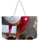 Balinese Lady Sifting Coffee Weekender Tote Bag