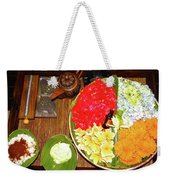Balinese Spa Weekender Tote Bag