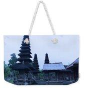 Balinese Temple On Side Weekender Tote Bag