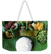 Balinese Traditional Lunch Weekender Tote Bag