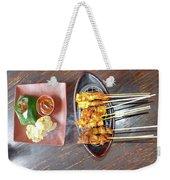 Balinese Traditional Satay Weekender Tote Bag