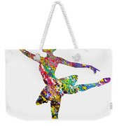 Ballet Dancer-colorful Weekender Tote Bag