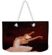 Ballet Dancer In White  Weekender Tote Bag