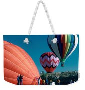 Ballon Launch Weekender Tote Bag