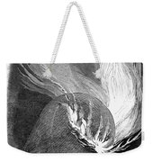 Balloon Accident, 1850 Weekender Tote Bag