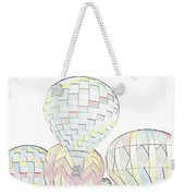 Balloon Day Weekender Tote Bag
