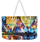 Balloon Festival Weekender Tote Bag