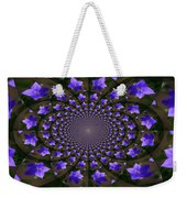 Balloon Flower Kaleidoscope Weekender Tote Bag