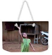 Balloon Girl Weekender Tote Bag