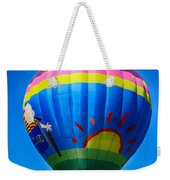 Balloon Over Wine Country Weekender Tote Bag