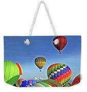 Ballooning Above Longs Peak Weekender Tote Bag