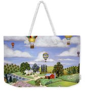 Ballooning In The Country One Weekender Tote Bag