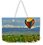 Ballooning Over The Rockies Weekender Tote Bag