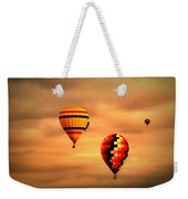Balloons In The Morning Weekender Tote Bag