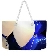 Balloons Of Blue And White Weekender Tote Bag