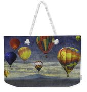 Balloons Over Sister Mountains Weekender Tote Bag