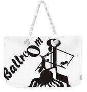 Ballroom Weekender Tote Bag
