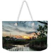 Balmorhea Sunset Weekender Tote Bag