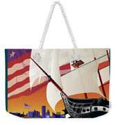Baltimore - By The Dawns Early Light Weekender Tote Bag