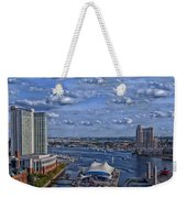 Baltimore Maryland Inner Harbor Weekender Tote Bag