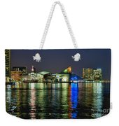 Baltimore Skyline Weekender Tote Bag