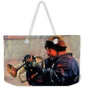 Baltimore Street Musician Weekender Tote Bag