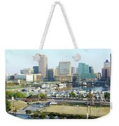 Baltimore's Inner Harbor Weekender Tote Bag
