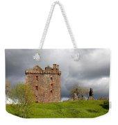 Balvaird Castle Ruins Scotland Weekender Tote Bag