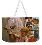 Bambi And Baby Weekender Tote Bag