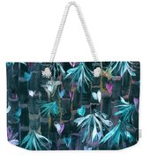 Bamboo And Butterflies Weekender Tote Bag