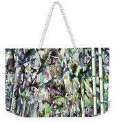 Bamboo Background In Nature Weekender Tote Bag