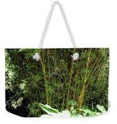 F8 Bamboo Weekender Tote Bag