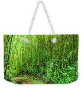 Bamboo Forest Trail Weekender Tote Bag