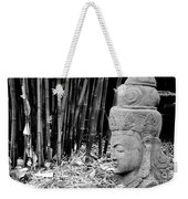 Bamboo Landscape  Statue Asian  Weekender Tote Bag