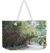 Bamboo Overhang Path  Weekender Tote Bag