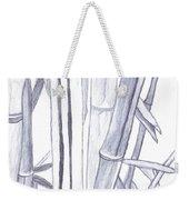Bamboo Shade Weekender Tote Bag