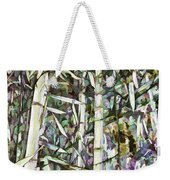 Bamboo Sprouts Forest Weekender Tote Bag