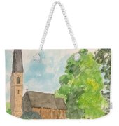 Bamford Church And Serenity Of Nature Weekender Tote Bag