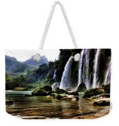 Ban Gioc Vietnam's Most Beautiful Waterfall  Weekender Tote Bag